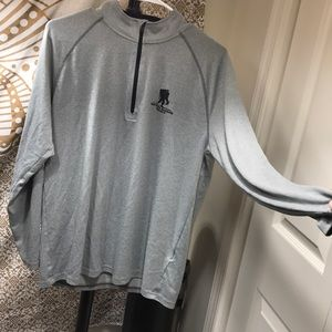 Loose-fit Under Armour 3/4 zip up